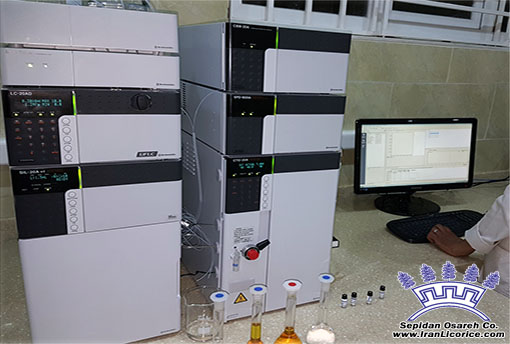 World Licorice HPLC Analysis Powder Blocks Liquid Paste Granules Nuggets Root Factory Lab