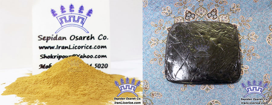 World Licorice Extract Powder Blocks